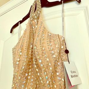 Jovani beaded evening gown